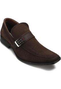 Sapato Casual Bkarellus Masculino - Masculino-Marrom