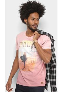 Camiseta Colcci Estampada Surf Masculina - Masculino