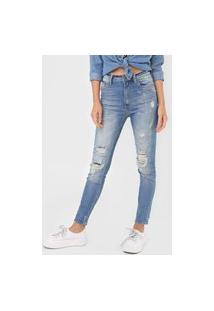 Calça Jeans John John Skinny Bosnia Azul