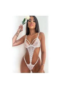 Body Sexy Mdmix Com Strapy Branco