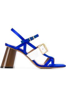 Marni Sandália Com Fivela - Azul