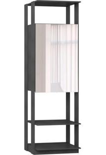 Estante Com Espelho- Espelhado & Espresso- 220X70X44Bentec
