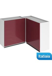 Módulo Cozinha Aéreo Clarice Canto - Ipc - Vermelho - Aço - Itatiaia
