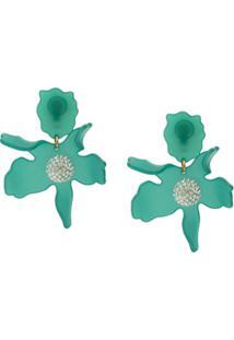 Lele Sadoughi Crystal Lily Earrings - Azul