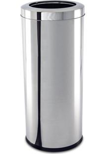 Lixeira Inox Com Aro 28,17 Litros