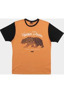 Camiseta Hd Ethnic Bear Masculina - Masculino