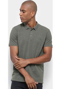 Camisa Polo Reserva Novo Mescla Básica Masculina - Masculino