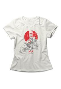 Camiseta Feminina Akira Off-White