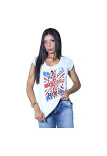 Camiseta Heide Ribeiro Keep Calm It'S A Boy Branco