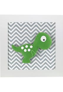 Quadro Decorativo Dino T-Rex Quarto Bebê Infantil Menino Menina