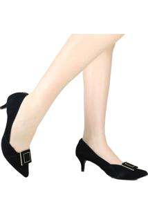 Sapato Scarpin Jorge Bischoff Salto Baixo