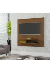 Painel Para Tv Até 40 Polegadas 1 Prateleira Mônaco Moderno Siena Móveis Malbec