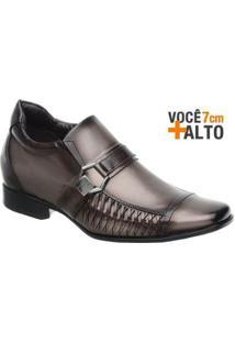 Sapato Social Couro Rafarillo Masculino - Masculino-Marrom