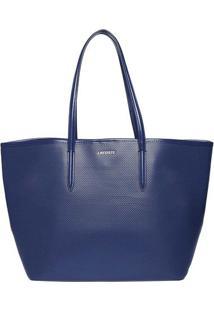 Bolsa Com Mosquetão - Azul Marinho - 29X44X19Cmlacoste