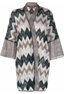 Missoni Kimono Zigzag - Cinza