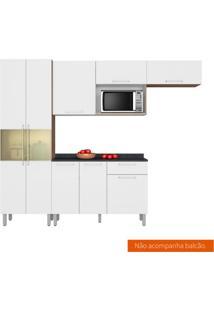 Cozinha Compacta Star 5 Pt Aveiro E Branca