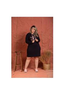 Vestido Fernanda Silk Black Plus Size Domenica Solazzo Vestidos Curtos Preto