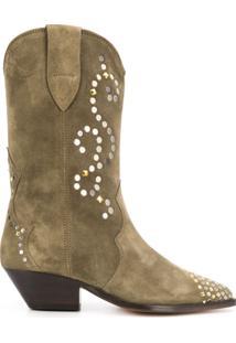 Isabel Marant Ankle Boot Duerto - Verde