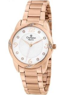 Relógio Champion Elegance Feminino - Feminino-Rosa