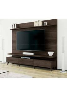 Estante Home Theater 2 Gavetas Para Tv Até 60 Polegadas Boss 180 X 218 X 40 Ameixa Touch - Imcal