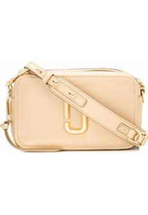 Marc Jacobs Bolsa Transversal The Softshot - Dourado