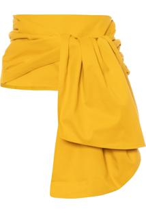 Cinto Feminino Origami - Amarelo