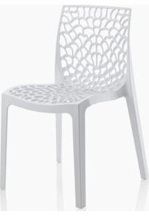 Cadeira Gruver Polipropileno Branca - 16778 - Sun House