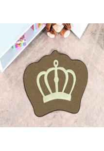 Tapete Dourados Enxovais Formato Coroa Castor