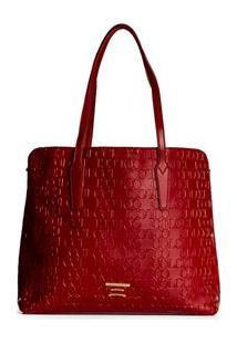 Bolsa Shopping Grande Colcci - Feminino-Vermelho