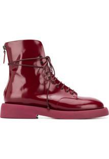 Marsèll Parrucca Zip-Up Ankle Boots - Vermelho