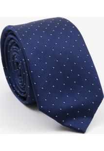 Gravata Slim Detalhes Blue