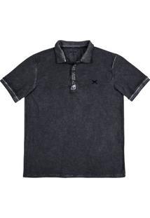 Camisa Polo Masculina Hering 100% Algodão Com Lavanderia