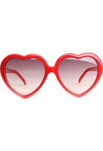 Óculos De Sol Atitude At5237 D01/56 Vermelho - Kanui
