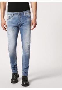 Calça Diesel Tepphar Masculina - Masculino-Jeans