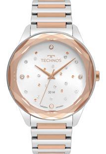 Relógio Technos Feminino Elegance Crystal 2036Mki/4C