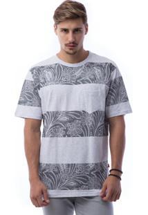 Camiseta Asphalt Blocks Paisley Masculina - Masculino