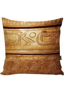 Capa De Almofada Egypt- Amarelo Escuro & Marrom- 42Xstm Home