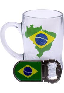 Caneca Minas De Presentes Brasil Transparente - Kanui