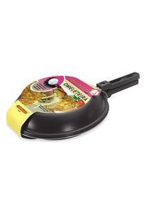 Omeleteira Fortaleza Preta 22 Cm Preto