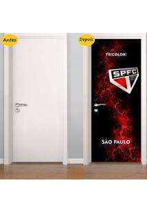 Adesivo De Porta São Paulo (0,80M X 2,10M)