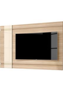 Painel Suspenso Orion P/ Tv Até 65 Polegadas Macchiato/Off White Munique Mobler