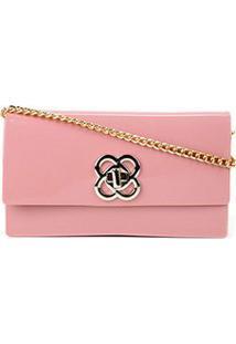 Bolsa Petite Jolie Mini Bag Lonh Wallet Feminina - Feminino-Rosa