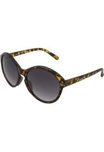 Óculos De Sol Ray Flector Buckingam 286Co Feminino - Feminino-Amarelo+Preto