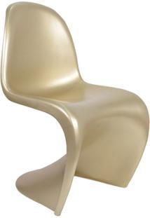 Cadeira Panton - Cor Dourada