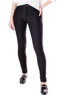 Calça Skinny Feminina One Jeans Sarja Preto - 36