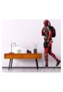 Adesivo De Parede Deadpool - Es 200X84Cm