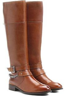 d589f16e65 Shoestock. Bota Couro Cano Alto Shoestock Montaria
