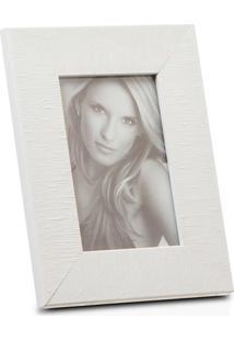 Porta Retrato Em Madeira Hamptons 15X10Cm Branco