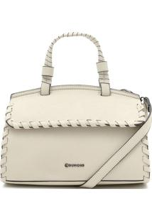 Bolsa Dumond Transpassada Off White