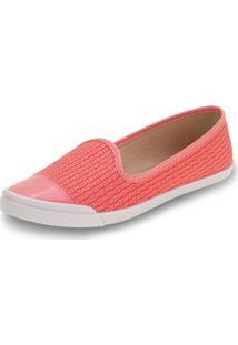 Sapatilha Feminina Moleca - 5109732 Coral 34